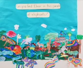 Mr. Harding's Class and Elmer the Elephant