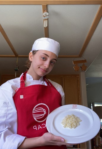 GHS Culinary Student Wins C-CAP Education Scholarship!