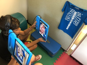 Pine Road Students used Virtual Reality in Health Class
