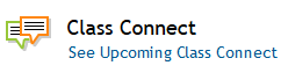 Class Connects Support Information
