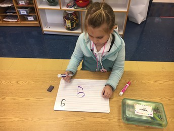 Writing our letters