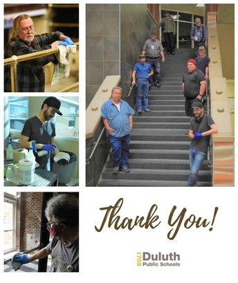 Thank You, Duluth Public Schools Facilities Staff