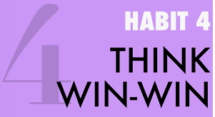 "Habit # 4- ""Think Win- Win"""
