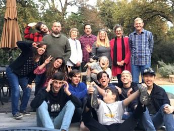 Julie Grant's family Thanksgiving