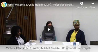 Input on Timing of Fall MCH Alumni Panel