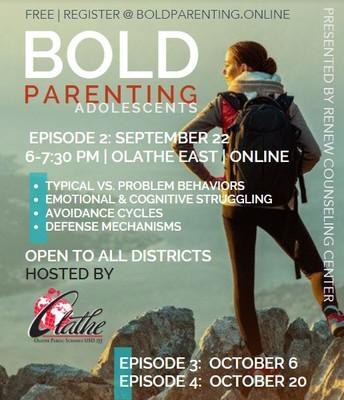 BOLD PARENTING ADOLESCENTS