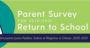Rosemont= Pre-K -5th grade Survey Link
