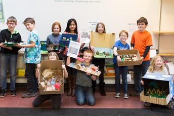 5th Grade Colony models