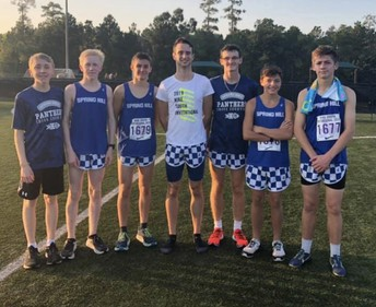 Boys Run in Elite and Varsity Divisions