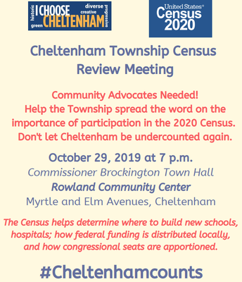 Cheltenham Census Meeting