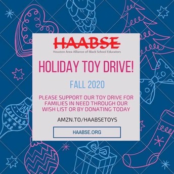 HAABSE Holiday Toy Drive
