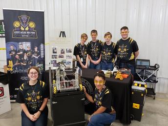 HS Robotics Team...Ready to Compete!