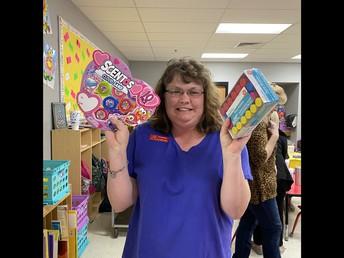 Mrs. Hickman, Prize Winner!