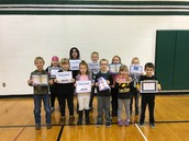 Elementary Reading Awards
