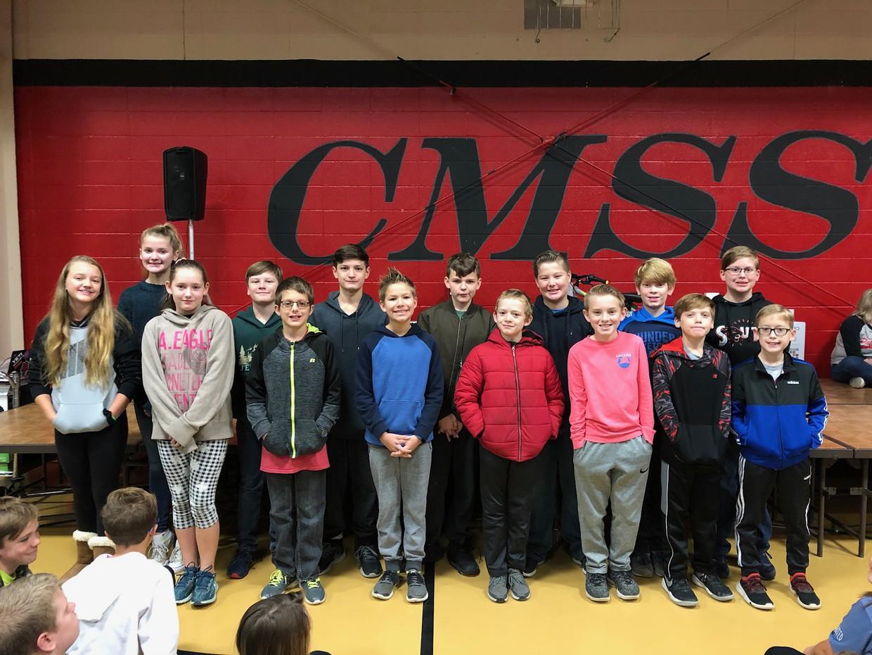 CMSS Quiz Bowl Team Members