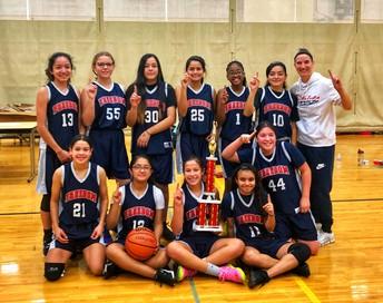 Girls Basketball Champs!