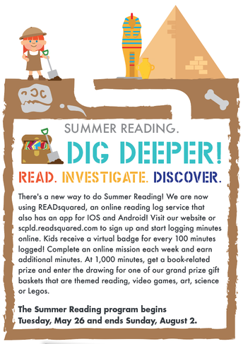 Dig Deeper! Read, Investigate and Discover with Your Library
