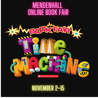 Mendenhall BookFair is Online-November 2-15