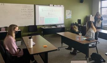Education Guest Instuctor - Mackenzie Madsen and Kiersten Nelson