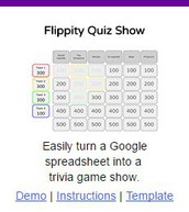 A Jeopardy Style Review Game