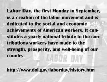 When is Labor Day?