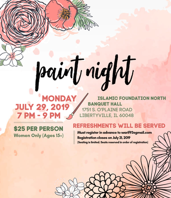 Paint Night At IFN