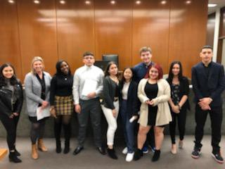 Junior Law Students Compete in City Mock Trials