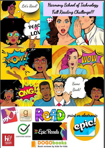 Fall Reading Challenge - Grades 6-8 September 21, 2020 - January 3, 2021