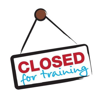 Closed for Staff Training
