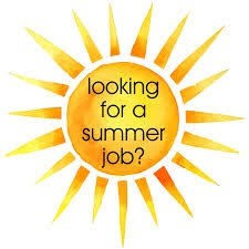 Students, Looking for a Summer Job?