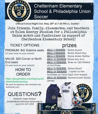 CE & Philadelphia Union Soccer