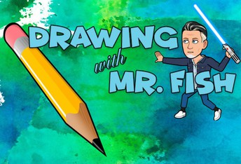 Drawing with Mr. Fish