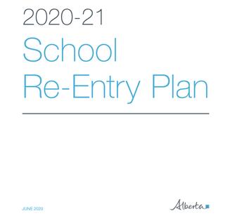 K-12 School Re-Entry Plan