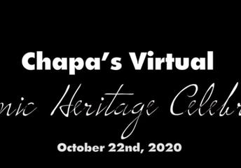 Chapa's Virtual Hispanic Heritage Celebration