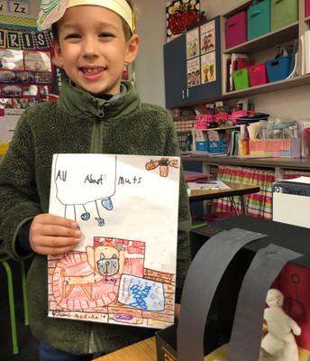 Proud 1st Grade Author!