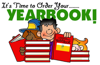 Get your yearbook today!