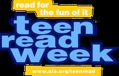 Teen Read Week October 16-20th