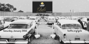 """Drive-In"" to the LEEF Gala 2021"