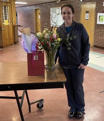 Buckland-Shelburne Elementary Nurse Danielle Long