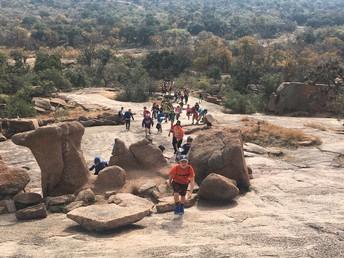 6th Grade Enchanted Rock Excursion