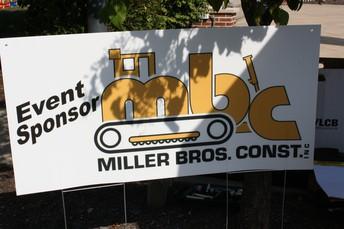 Event Sponsor: Miller Bros. Construction