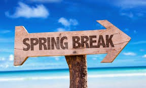Spring Break - March 8-12
