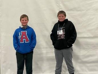 Zach Bowin and Parker Molt