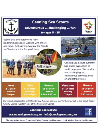 Canning Sea Scouts