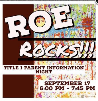 ROE Rocks!