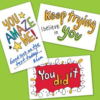 PSSA Encouragement Cards DUE
