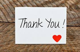 Thank you for your support from the homefront!