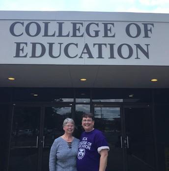 COE Library Media Legacy: Dr. Wendy Rickman & Mrs. Ruth Anne Rickman