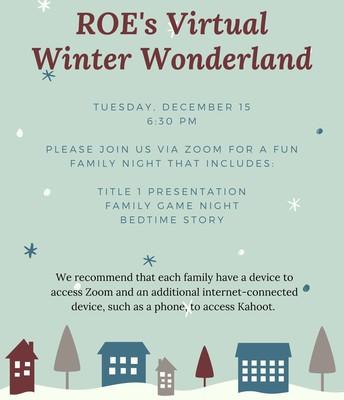 Virtual Winter Wonderland