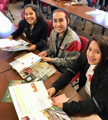 AVID Students visit OU